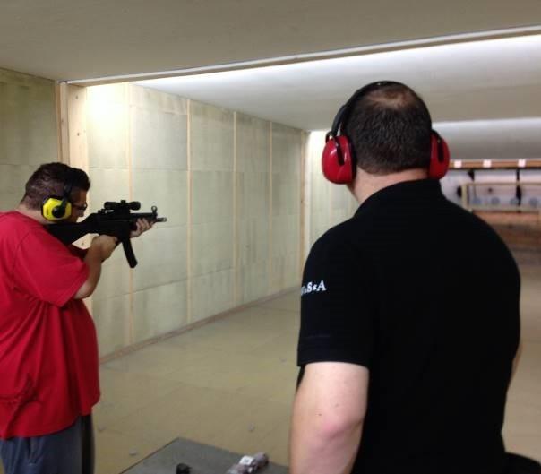 Schießtraining auf dem Mehrdistanzstand