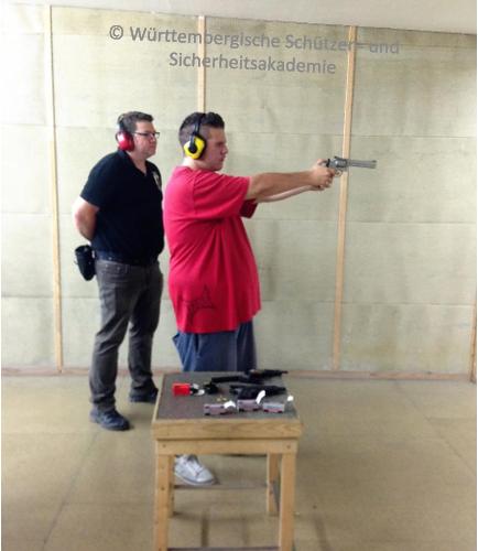 Schnupperschießen KK S&W Revolver